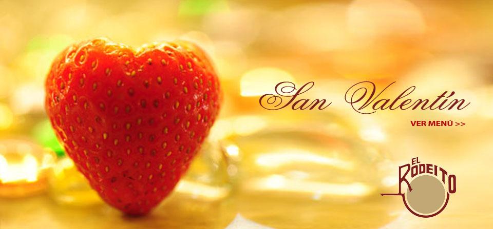 San Valentin Menu